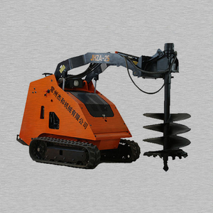 Mini Skid Steer Loader Auger Drive