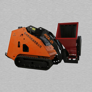 Mini Skid Steer Loader Wood Chipper